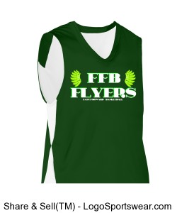 DONOVAN MORRIS NO 7 FAST FORWARD FLYERS BASKETBALL JERSEY Design Zoom